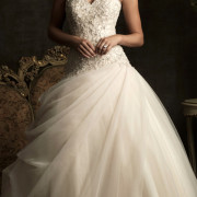 embroidery and swarovski crystals mermaid wedding dress sexy womens bridal gowns
