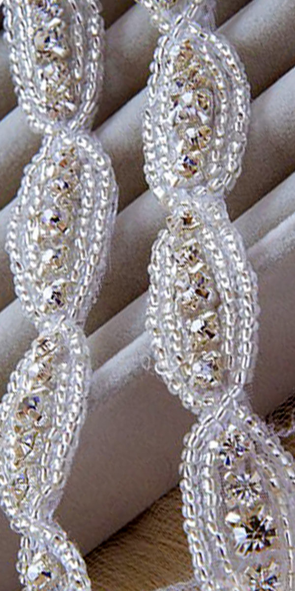 handmade vintage beaded crystal headdress sexy womens accessories