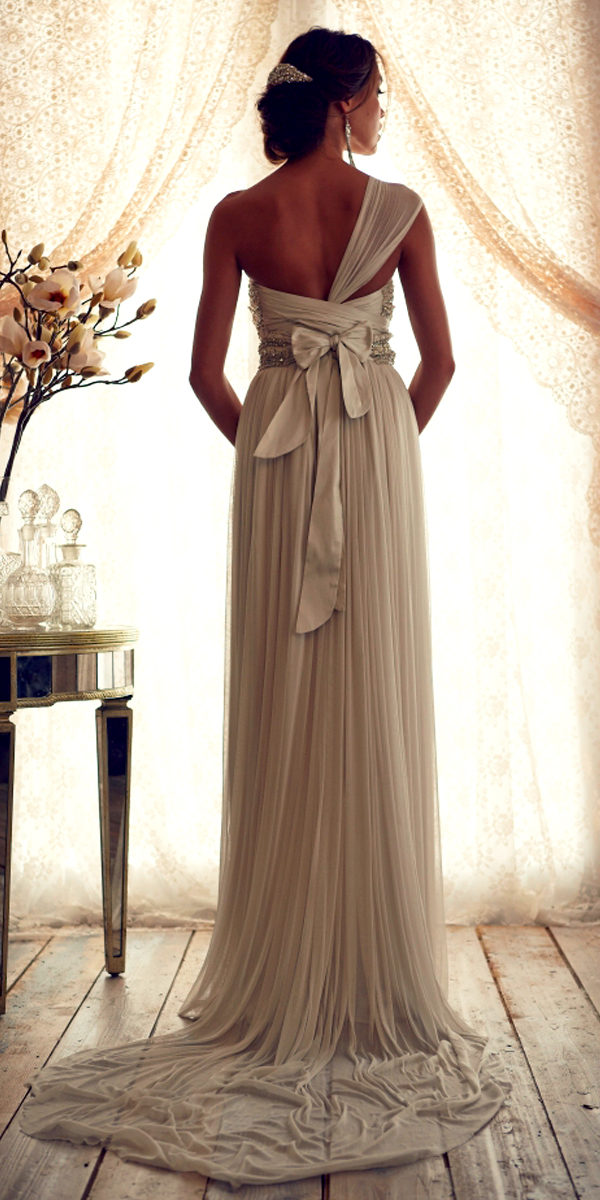 one shoulder beaded chiffon a-line maternity wedding dress sexy womens bridal gowns