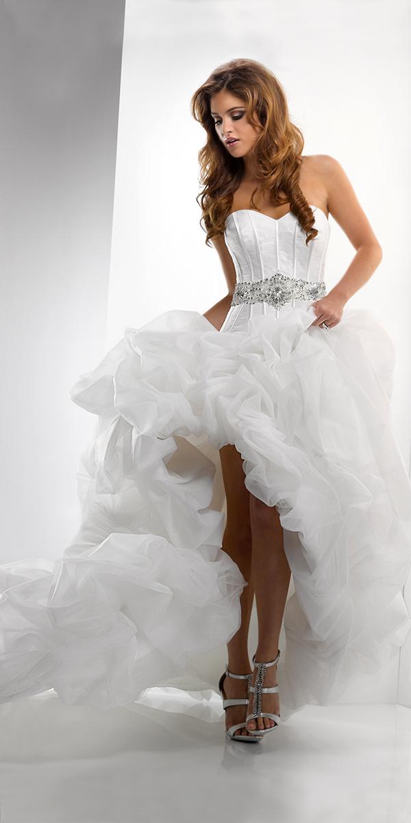 Фото свадебное платье с открытыми ногами