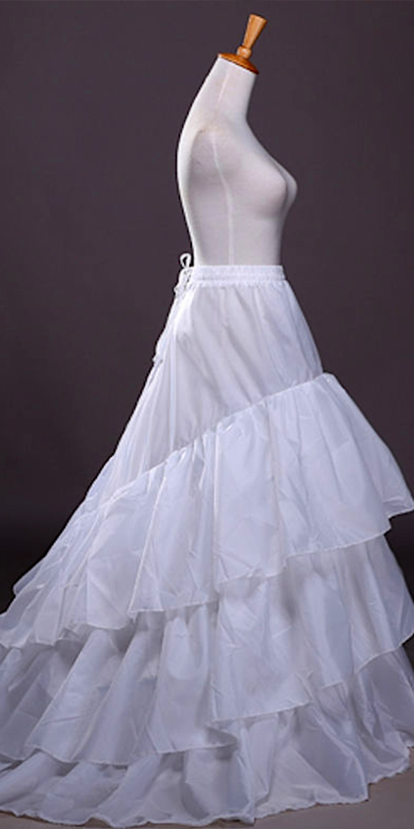 3 hoop a-line crinoline petticoat sexy womens bridal accessories