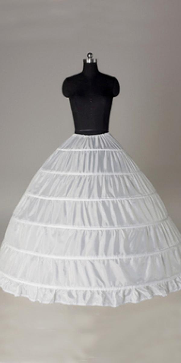 6 hoop petticoat crinoline slip underskirt sexy womens bridal accessories