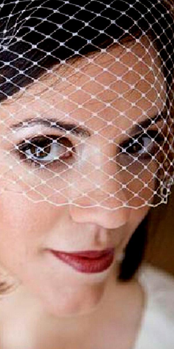 birdcage bridal veil with mesh head flower sexy womens wedding accesories