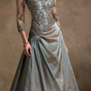 applique sequined tulle beaded evening gown sexy womens lingerie
