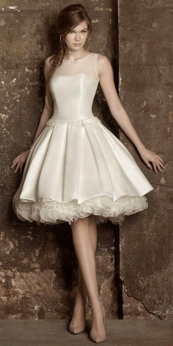 high-neck ivory ruffled evening dress sexy womens lingerie