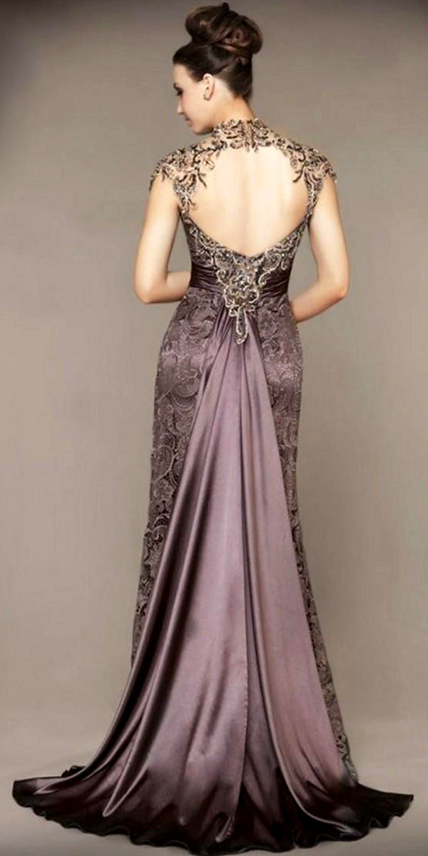 lilac satin vintage evening dress sexy womens lingerie