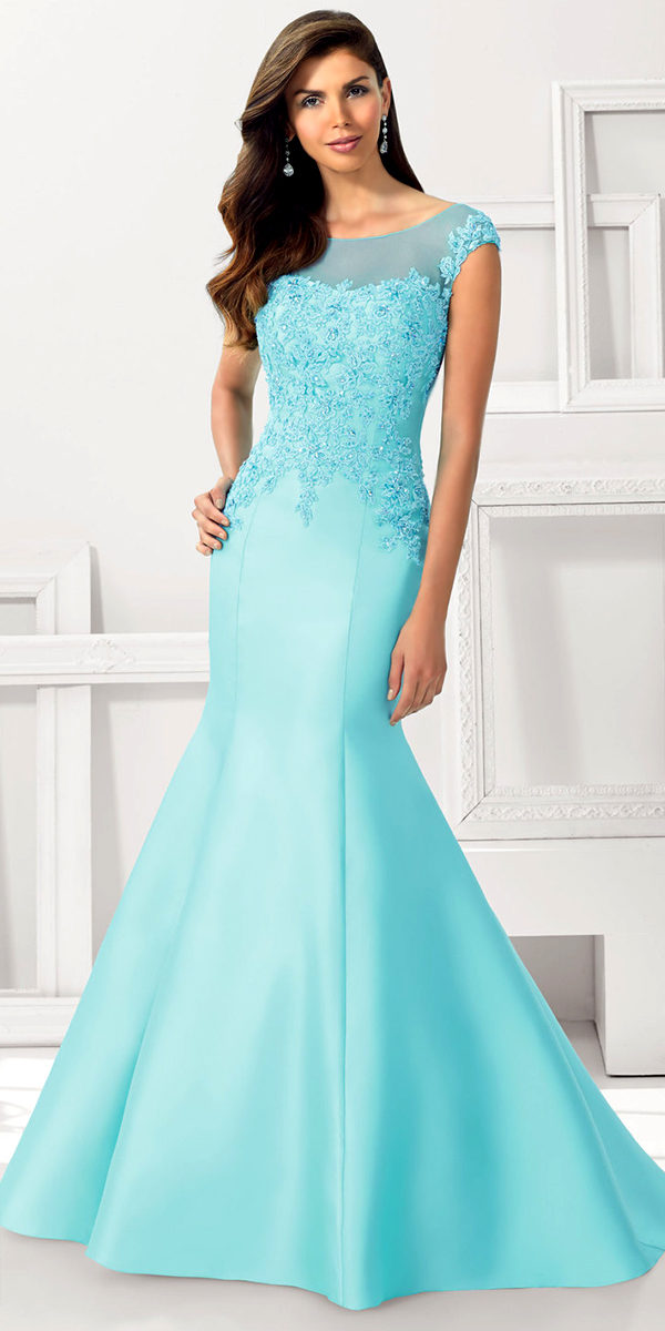 satin with beaded lace applique evening gown sexy ladies lingerie