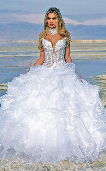bridal gown dress care sexy women's wedding dress tips