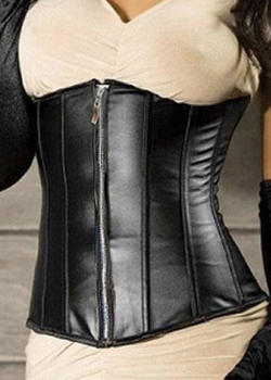 cheap leather clothing leather corsets women's sexy