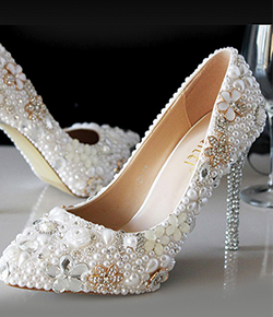 cheap women's accessories bridal shoes