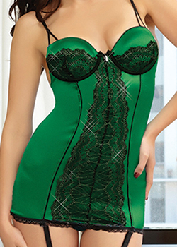 sexy women's lingerie chemise