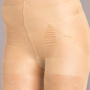 nude silicone strapless mid-thigh body shaper sexy womens hosiery