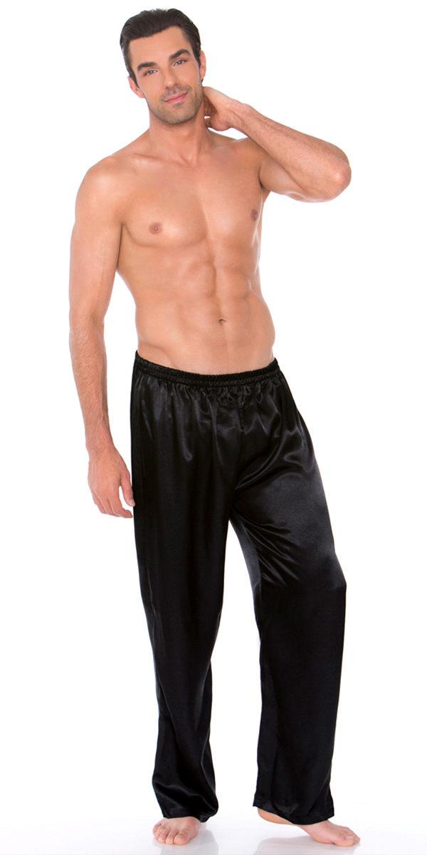 satin pants sexy men's underwear