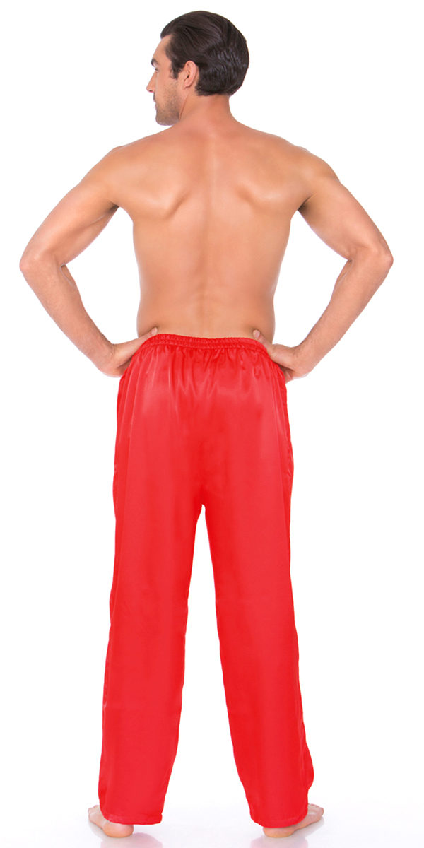 satin pants sexy men's underwear