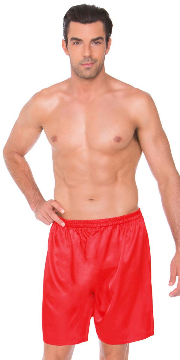 satin shorts sexy men's underwear