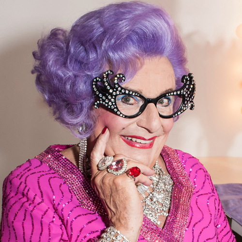 dame edna cross-dressing