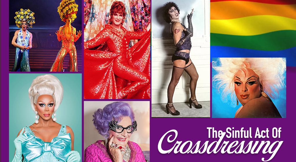 cross-dressing transgender transvestite drag queen