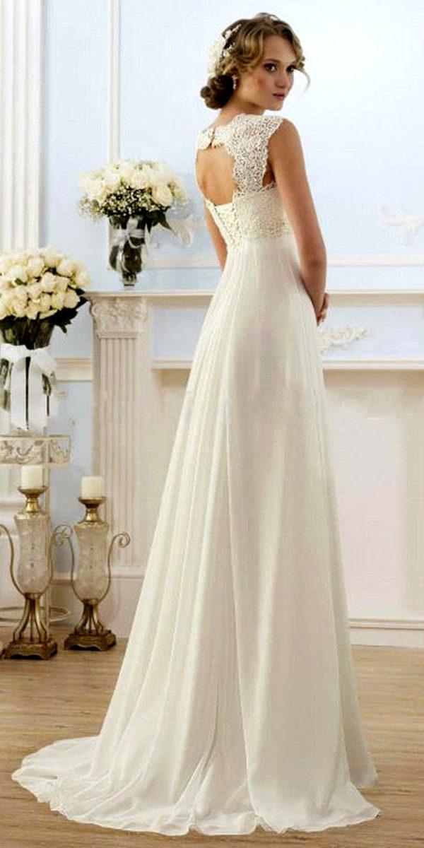 beach empire maternity wedding dress sexy women's bridal gowns