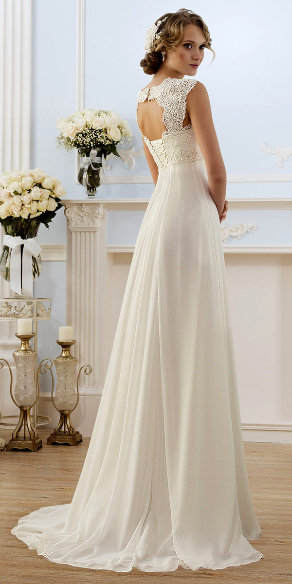 empire maternity beach wedding dress sexy women's bridal gowns
