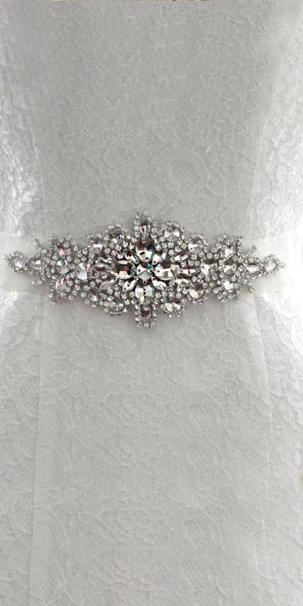 jeweled custom wedding belt sexy women's bridal accessories