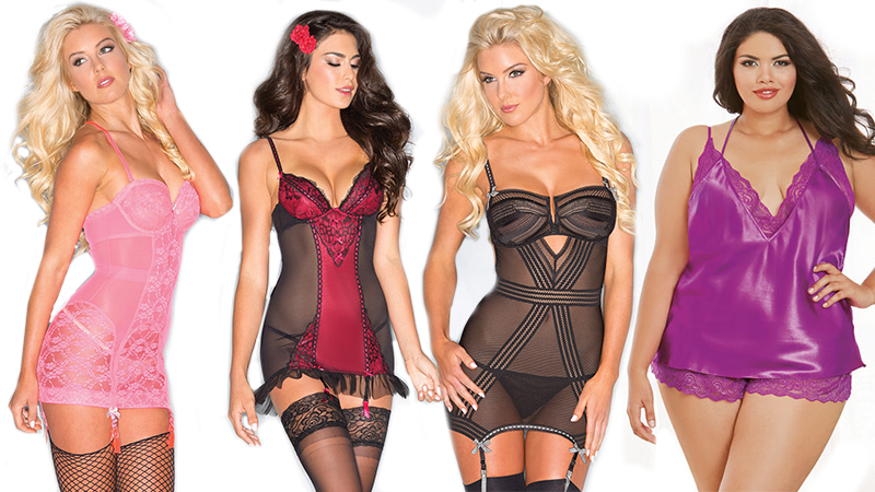 types of lingerie camis