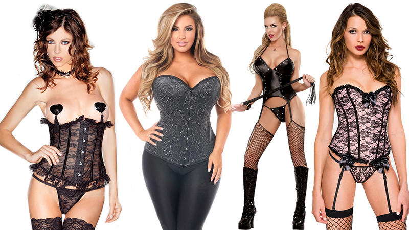 types of lingerie corsets