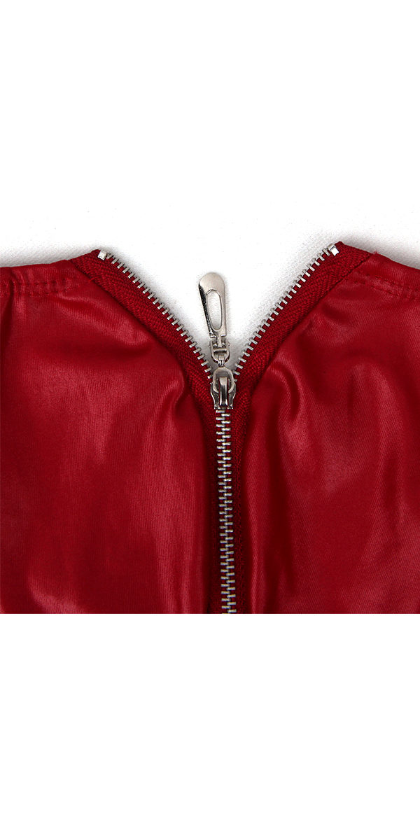 leather trunks with zipper sexy men's underwear