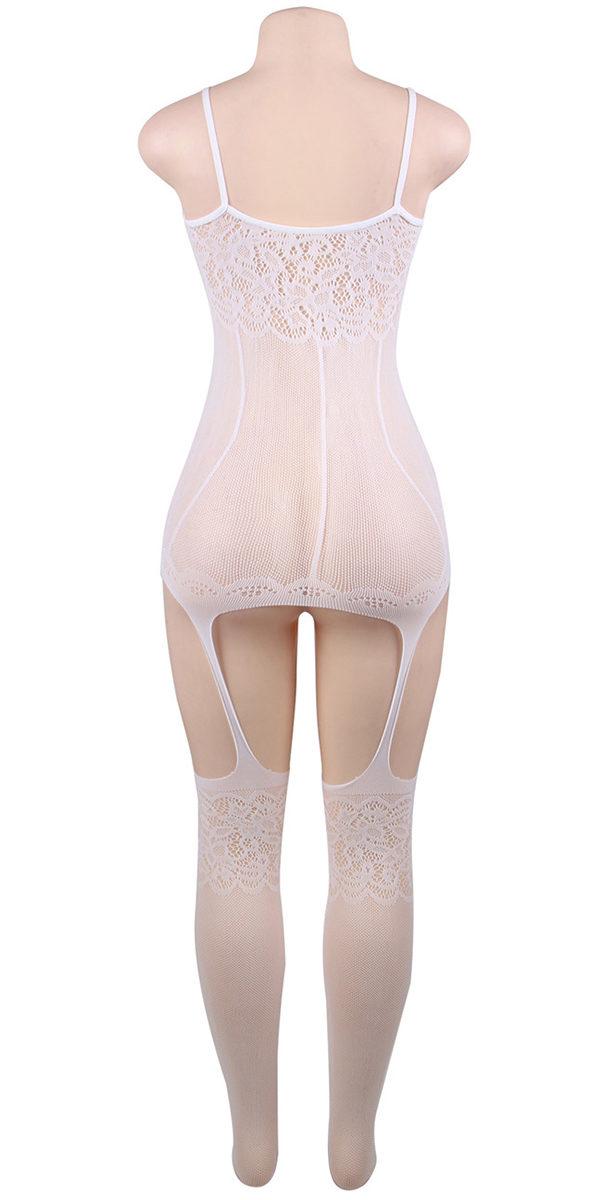 suspender style bodystocking sexy women's hosiery bodysuit