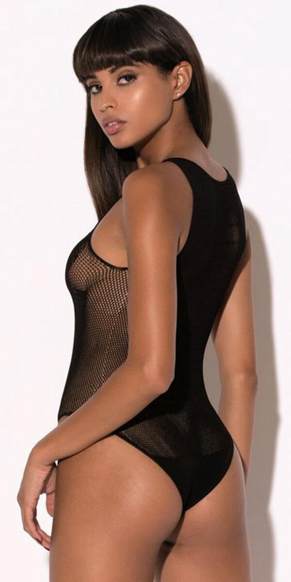 black eagle fishnet bodysuit sexy women's hosiery