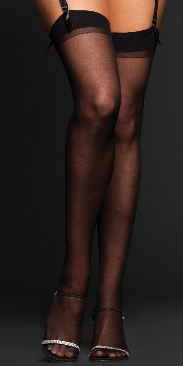 sheer thigh highs sexy women's hosiery tights