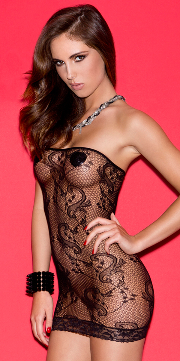 black tube mini dress sexy women's clubwear