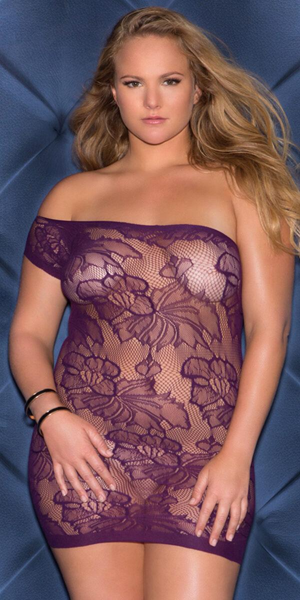 plus size asymmetrical one sleeve mini dress sexy women's clubwear curvy