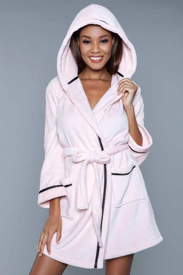 Soft Blush Pink Robe