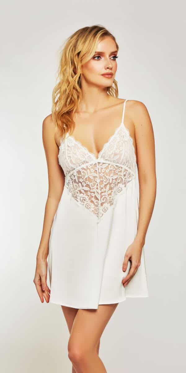 Lace and Satin Elissa Chemise