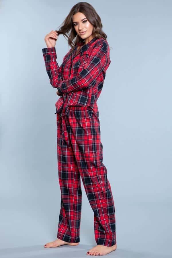 Comfy Flannel Santa Sleepwear