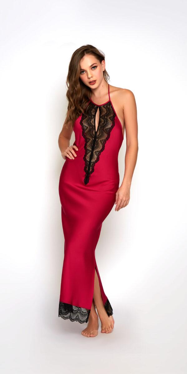 Satin Tess Long Gown