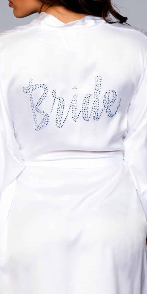 """Embellished """"Bride"""" Robe"""
