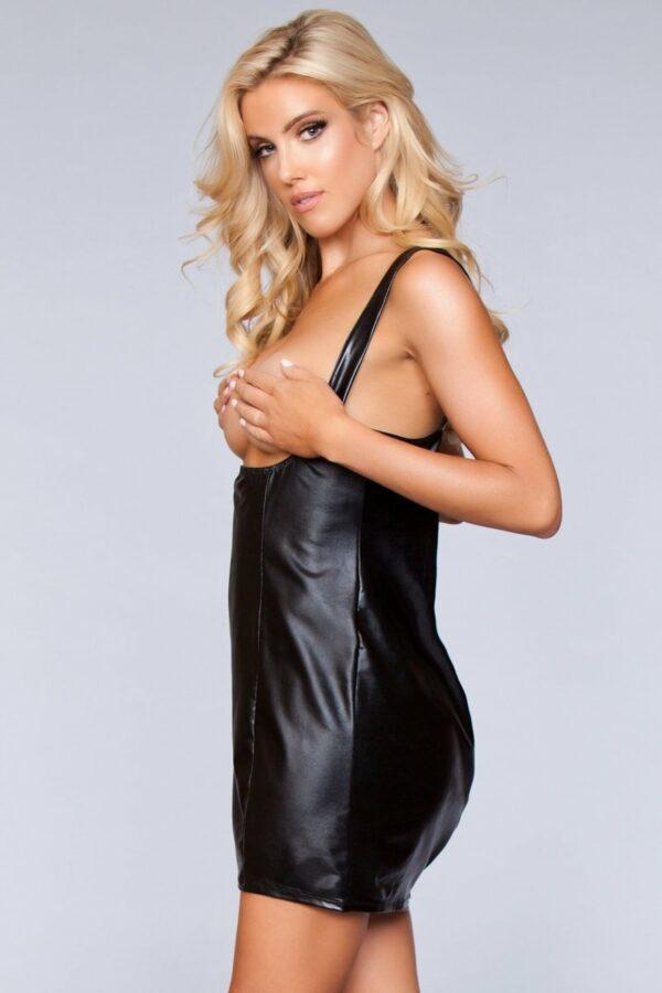 Black Miranda Cupless Dress