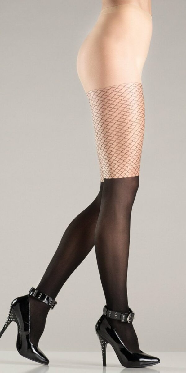 Two Toned Pantyhose